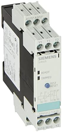 Siemens 3rn1012 1ck00 thermistor motor protection relay for Thermistor motor protection relay