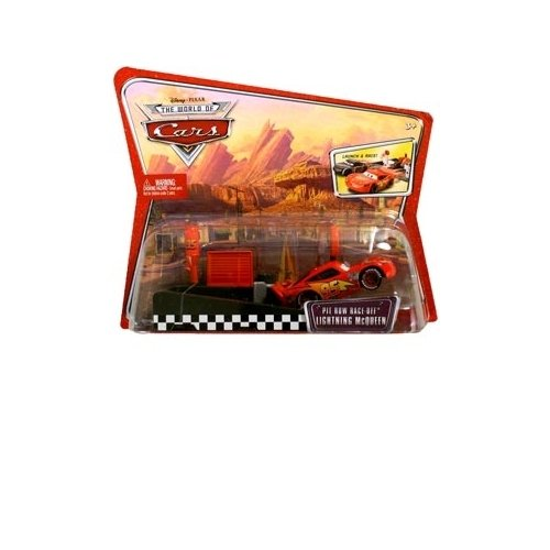 Cars Pit Race-Off Lightning McQueen Launcher - 1