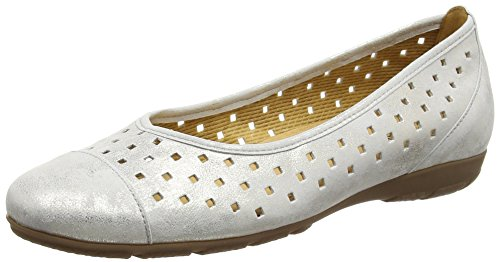 gabor-ruffle-ballerines-femme-or-pouder-42-eu-taille-fabricant-8-uk