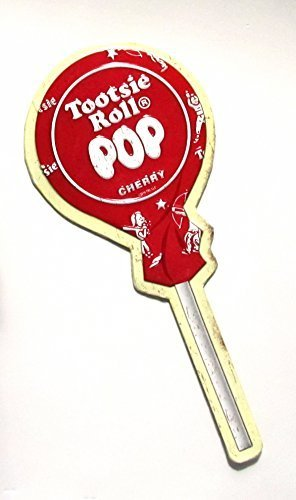 tootsie-roll-pop-cherry-flavor-embossed-metal-sign-nostalgic-candy-decor-by-tootsie-roll