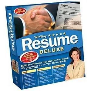 Winway Resume Deluxe 11.0 Network 10