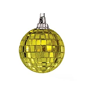Mr. Light 55360-P Mirror Balls, Pack of 100, Gold, 3-Inch Each
