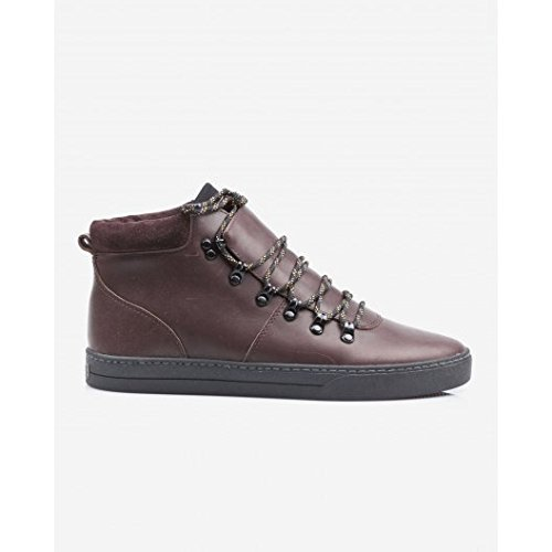 Clae Grant sneakers uomo Umber Leather Black - 42.5, Brown