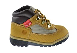 Timberland Baby Toddlers Helcor Field Boots Wheat 3382r (11 M US)