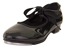 Youth Premier Value Black Tap Shoe Danshuz (2W)