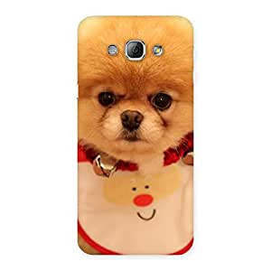 Delighted Cutest Pup Multicolor Back Case Cover for Galaxy A8