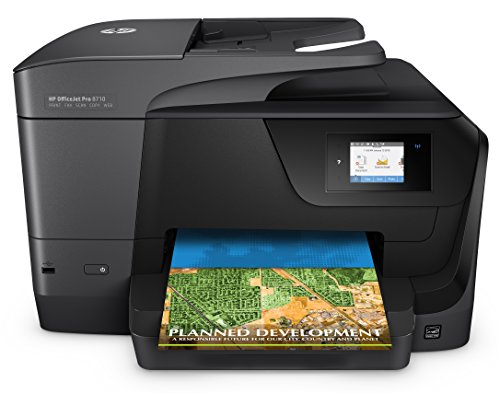 HP OfficeJet Pro 8710, Stampante Multifunzione All-in-One, Ink