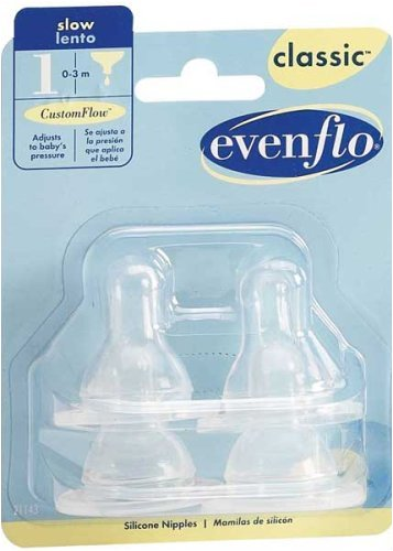 How to get Evenflo 4 Pack Classic Silicone Nipple, Slow Flow Guides