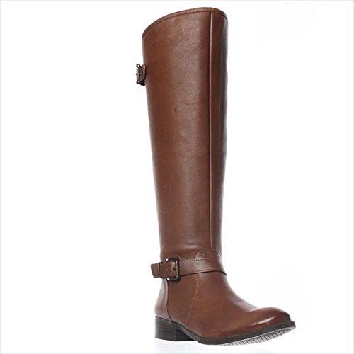 Jessica Simpson Rinne Riding Boots - Bourbon, 5.5 M US / 35.5 EU