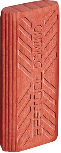 Link to Festool 494871 Domino Tenon, Sipo Mahogany For Outdoor Use, 8 x 22 x 40mm, 130-Pack