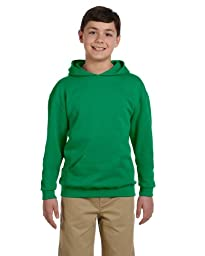 JERZEES - 8 oz 50/50 Youth Pullover Hood, Kelly, S