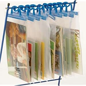 Creative Office Organizing Ideas: Teachers' hangy bags! — Inspired ...