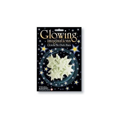 4M Glowing Imaginations Glow In The Dark Stars Novelty