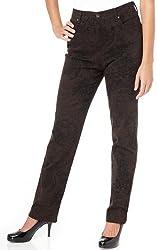 Gloria Vanderbilt Petite Amanda Rose Jeans FRENCH PRESS BROWN 12 Petite by Gloria Vanderbilt