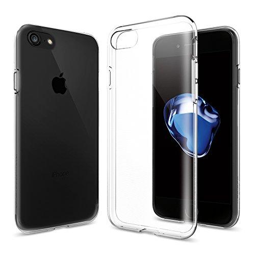 【Spigen】 iPhone7ケース, リキッド・クリスタル [ クリア ...