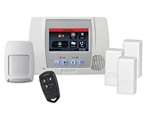 Honeywell L5100PK - LYNX Touch with (3) 5816WMWH Door/Window Transmitters, (1) 5834-4 Four-Button Wireless Key and (1) 5800PIR-RES Wireless Motion Detector