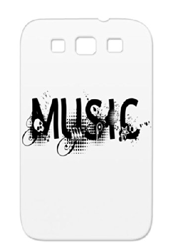 Tpu Music Black For Sumsang Galaxy S3 Music Classic Headphone Jazz Birthday Party Rock`Nroll Dance Disco Rock Music Country Sound Urban Sounds Hip Hop Fun Hiphop Metal Records Dj R&Amp;B Pop Rock And Roll Headphones Cover Case