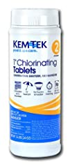 Kem-Tek 2815-6 Chlorinating Tablets 1-Inch Pool and Spa