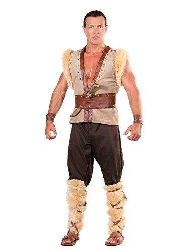 Underwraps Men's Plus-Size Thor, Tan/Brown/Black, XX-Large (Norse God Costume)