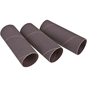 Delta 31-271, 4 in dia. X 9 in long Abrasive sleeves, 120 Grit, 3 Pc