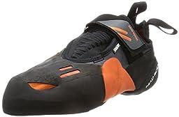 Mad Rock Mens Shark Climbing Shoe, Black/Orange, 9 M US