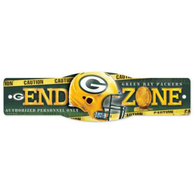 "Green Bay Packers Official NFL Football Team Logo 4""x17"" Street Sign"
