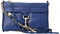 Hot Sale Rebecca Minkoff Mini Mac Clutch,Navy,One Size