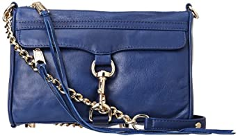 Rebecca Minkoff Mini MAC Convertible Crossbody,Navy,One Size