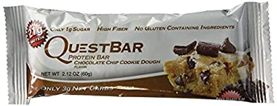 Quest Protein Bars - Chocolate Chip Cookie Dough - 2.1 Oz