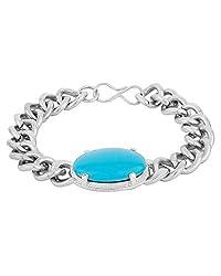 JDX Salman Khan Turquoise Stone Bracelet for Men