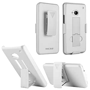 Handhelditems Rubberized Case for HTC One M7 (White)