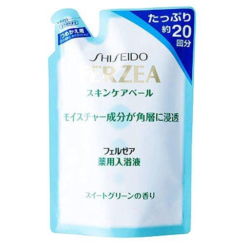 フェルゼア 薬用スキンケア入浴液 スイートグリーン 詰替用 500ml
