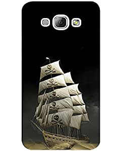 MobileGabbar Samsung A3 Back Cover Printed Mobile Cover