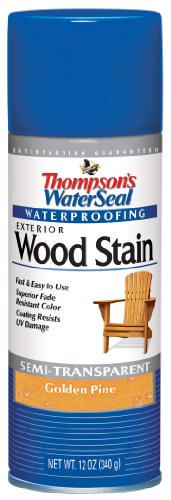 Thompsons 10511 Golden Pine Waterseal   Exterior Wood Stain   Exterior Spray Wood Stain (Exterior Wood Sealer compare prices)