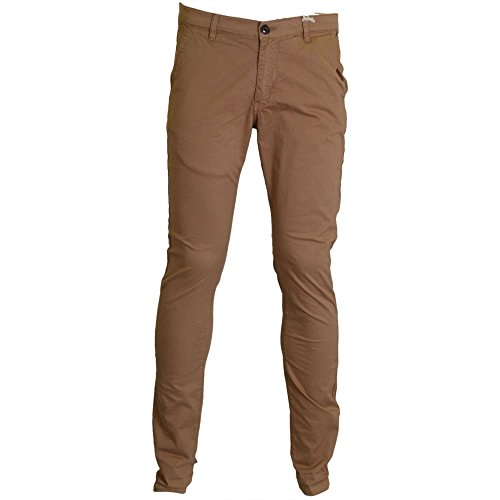 Franklin & Marshall al340 Taylor Skinny Fit Beige Chino Beige 34W/Regular