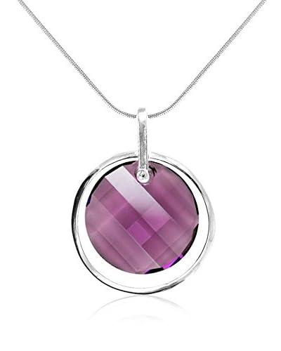 So Charm with Crystals from Swarovski Collar  Morado