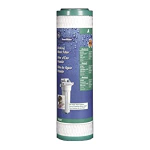 GE FXUVC Single Stage Drinking Water Filtration System Replacement Filter (VOC)