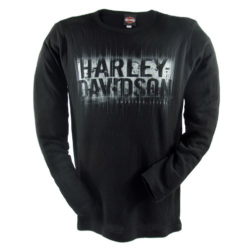 Harley-Davidson Ramstein Rays Long Sleeve T-Shirt Mens, Large, Black