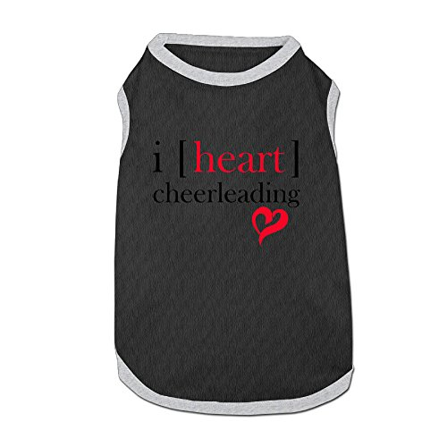 [I Heart Cheerleading Dog Shirt Dog Jackets Doggie Shirt For Puppy] (Monster High Wisp Costume)