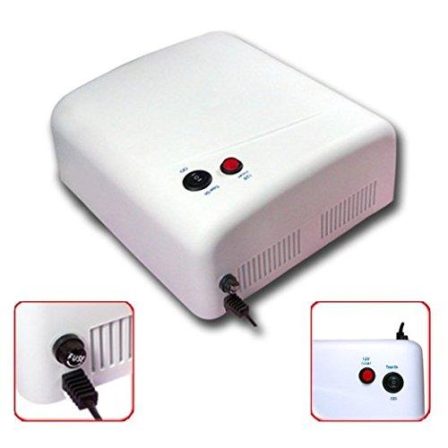 Uv Gel Nail Art Lamp Dryer Manicure Light Gellish Curing Timer 36w +4