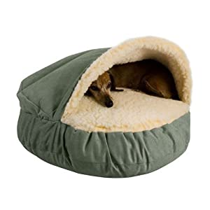 Snoozer Luxury Cozy Cave, Leaf, Small