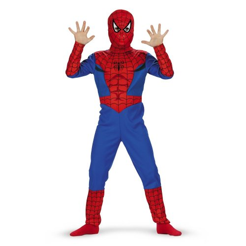 : Spiderman Classic Costume - Size: Child L(10-12)