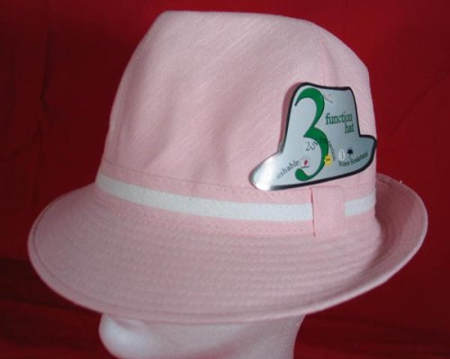 Buy Fedora Crusher Hat Summer Style Hip Hop Rock Cotton Bucket (light pink)