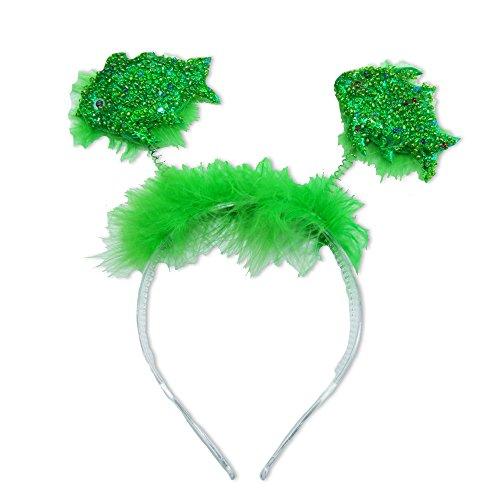 Süßer Haarreif zum Kostüm Meerjungfrau Grün