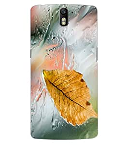 ColourCraft Lovely Rain Design Back Case Cover for OnePlus One