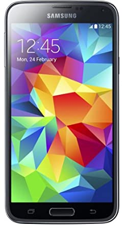 Samsung Galaxy S5 Smartphone (5 Zoll Display, 16 GB Speicher, Android 4.4) electric blue