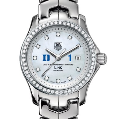Duke Women's TAG Heuer Link w/ Diamond Bezel - Champs