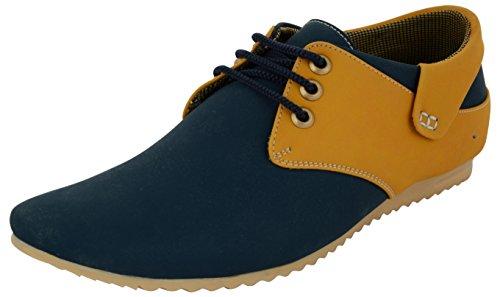 Black-Money-Essence-Mens-Corpus-Blue-Derby-Casual-shoe