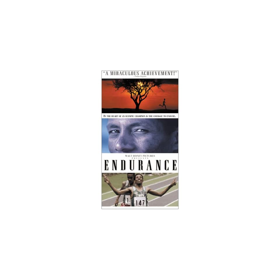 Endurance [VHS] Haile Gebrsellasie, Shawananness