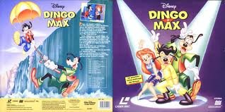 LD laserdisc disque laser 30 cm france-dingo et max ! rare !
